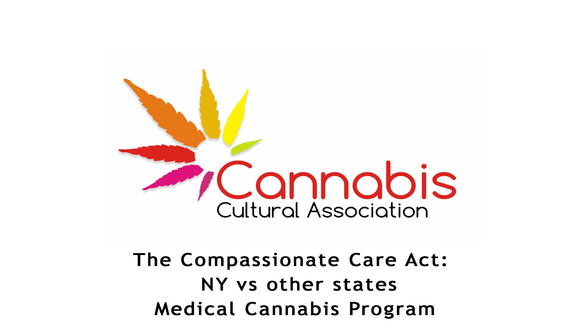 NY vs other states Medical Cannabis Program