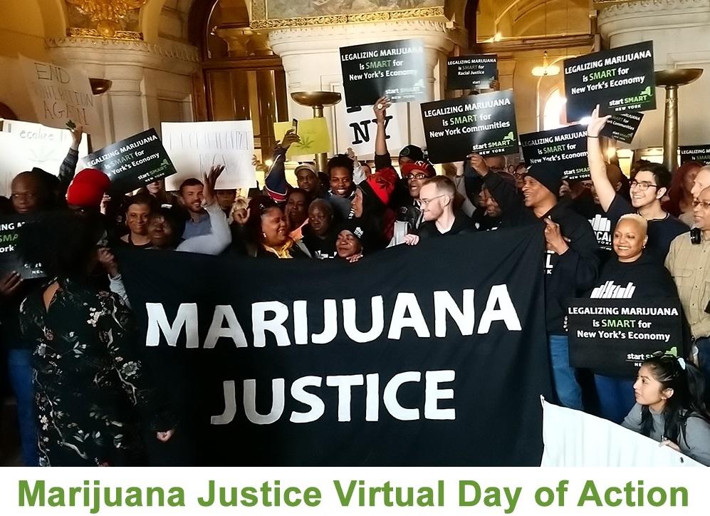 Marijuana Justice 3-3-2021 Day of Action