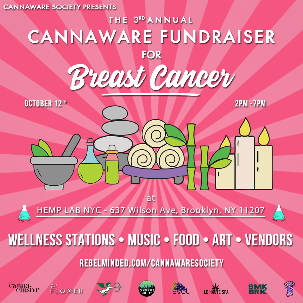 3rd Annual Cannaware Fundraiser Recap 1