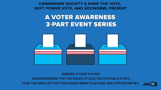 Voter Awareness 3-part Event Series (Discussion)